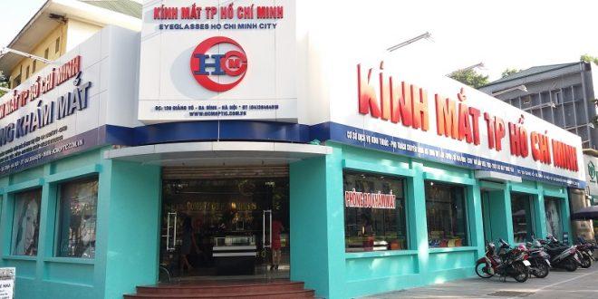 Cửa hàng kính mắt Hồ Chí Minh