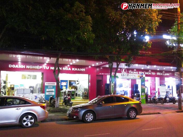 LG Brandshop Nga Khanh (Hà Tĩnh) _ Phần mềm bán hàng Master Pro