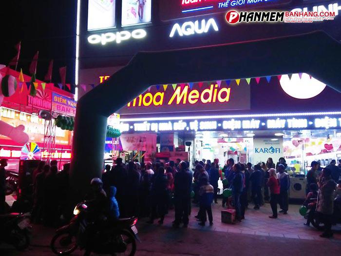 Phần mềm quản lý bán hàng cho Tuấn Thoa Media