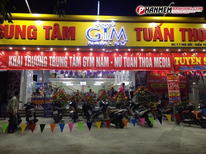 Trung tâm Gym Tuấn Thoa