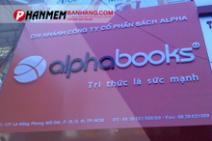 Phần mềm quản lý bán hàng cho Alpha Books
