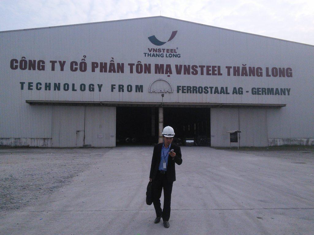 Công ty thép VNSteelThangLong