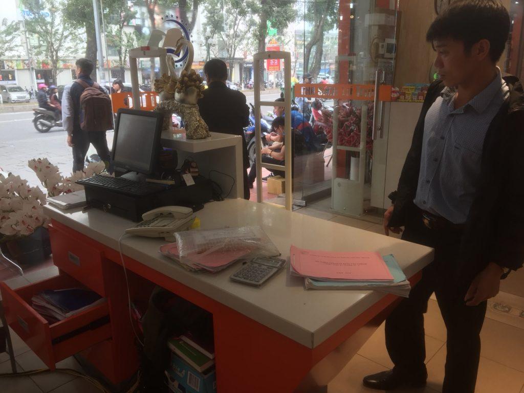 Anh Nguyễn Văn Hảo Teamleader dự án nhà sách Trí Tuệ