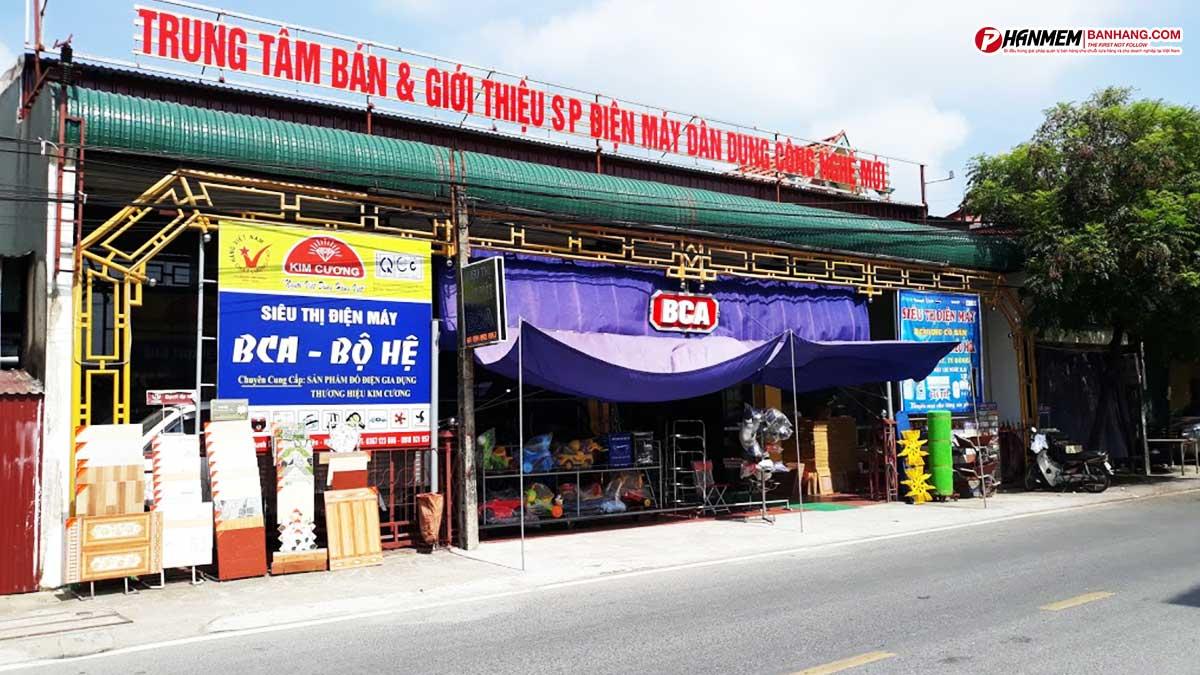 Phần mềm quản lý bán hàng Đại siêu thị Bố Hệ - BCA Hải Dương