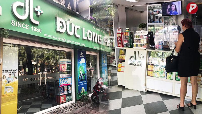 Chuỗi cửa hàng nhà thuốc Đức Long