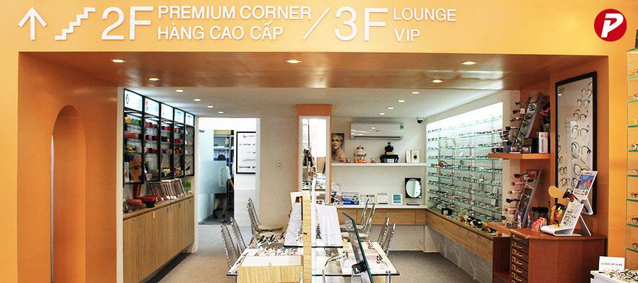 Phần mềm bán hàng kính mắt cho iMEGANE