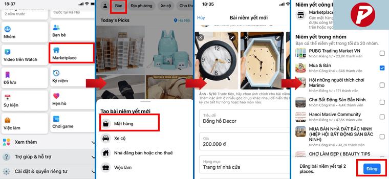 Hướng dẫn đăng sản phẩm trên Marketplace