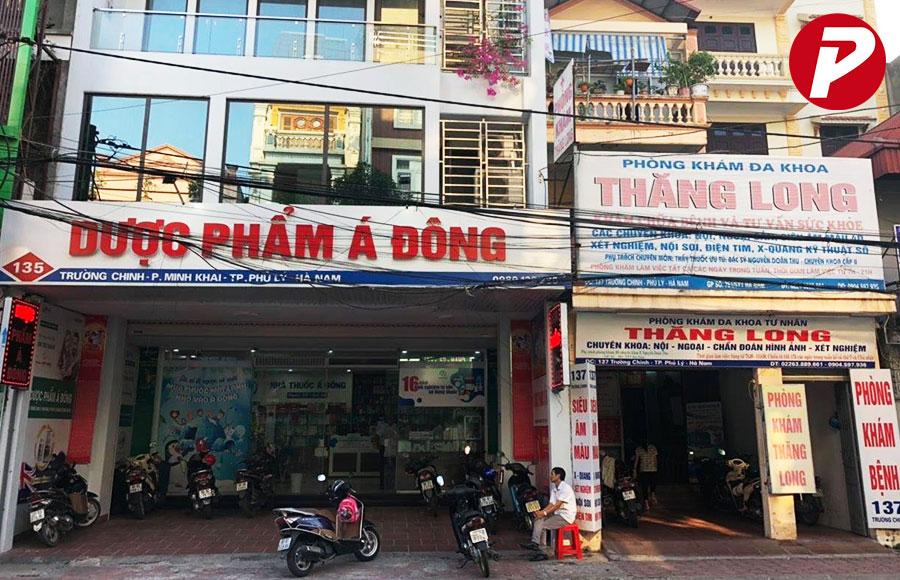 Chuỗi cửa hàng thuốc Dược Á Đông