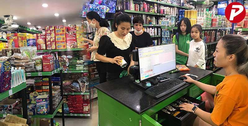 Phần mềm quản lý bán hàng siêu thị tạp hóa Thành Tâm
