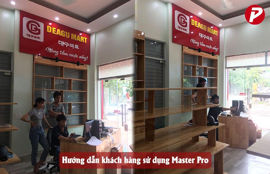 Hướng dẫn sử dụng Master Pro cho nhân viên của siêu thị Deagu Hàn Quốc
