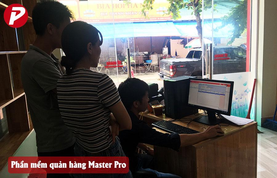 Triển khai phần mềm quản lý bán hàng siêu thị Master Pro