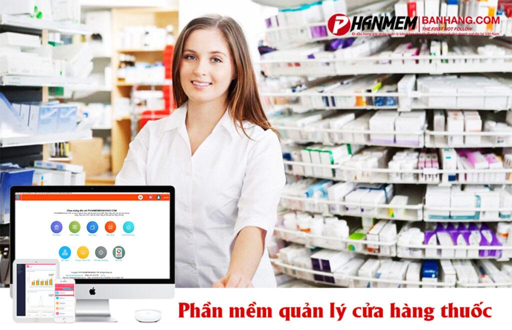 Phần mềm quản lý bán hàng nhà thuốc