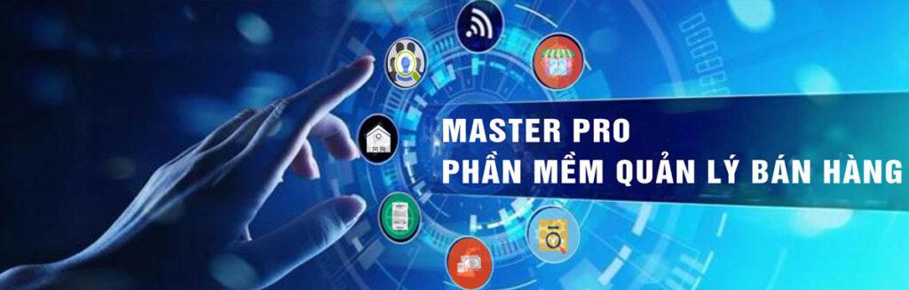Giải pháp phần mềm bán hàng Master Pro