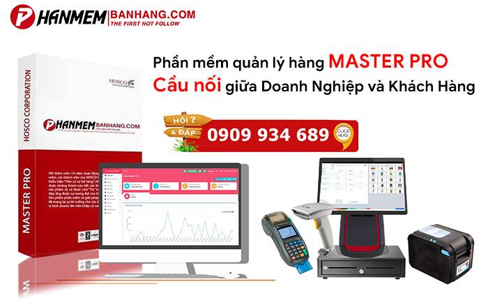 Phần mềm quản lý bán hàng Master Pro