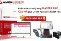 Phần mềm quản lý bán hàng siêu thị Master Pro
